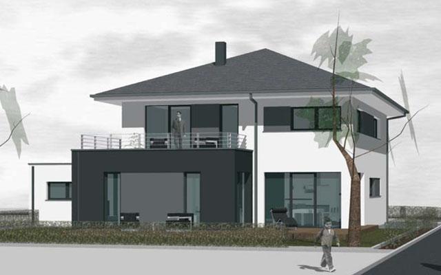 Wsb immobilien bau gmbh for Stadtvilla mit doppelgarage grundriss